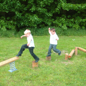 Echipament de joaca Trepte de lemn LJ649