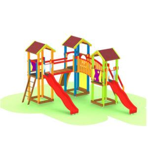 Ansamblu de joaca pentru exterior Urban Market