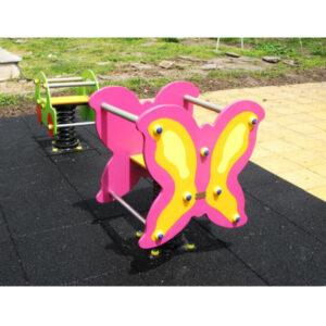 Balansoar pe arc - jocuri exterior - legane - carusele
