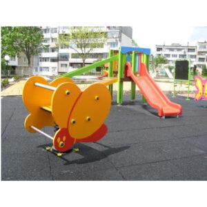 Balansoar pe arc - locuri de joaca - leagane - carusele