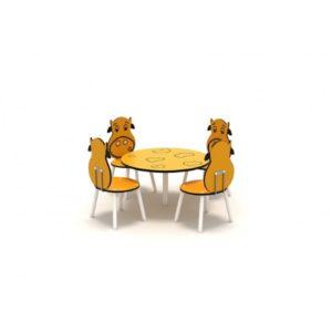Masa pentru copii 4 locuri LJ061