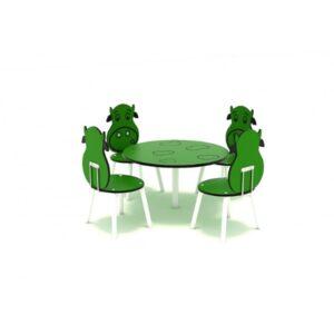 Masa pentru copii 4 locuri LJ061aaa