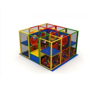Structura modulara cu piscina cu bile LJ032