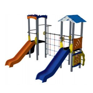 Ansamblu de joaca pentru exterior, loc de joaca pentru copii, sistem de joaca parcuri, complex de joaca, spatii de joaca exterioare pentru copii