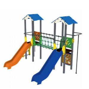 Ansamblu de joaca pentru exterior, loc de joaca pentru copii, sistem de joaca parcuri, complex de joaca