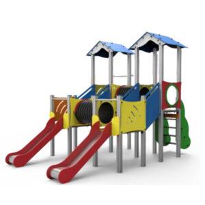 Ansamblu de joaca pentru exterior, loc de joaca, complex de joaca pentru copii, sisteme joaca parcuri,