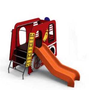 Ansamblu de joaca pentru exterior Masina de pompieri LJ082
