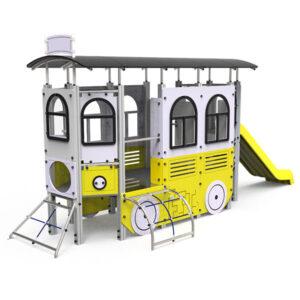 Ansamblu de joaca exterior Tren electric LJ540