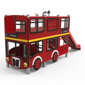Ansamblu de joaca exterior Bus englezescLJ527