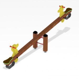 Balansoar din lemn cu ratuste LJ630