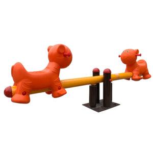 Balansoar 2 locuri cu scaune si figurine 3D LJ615